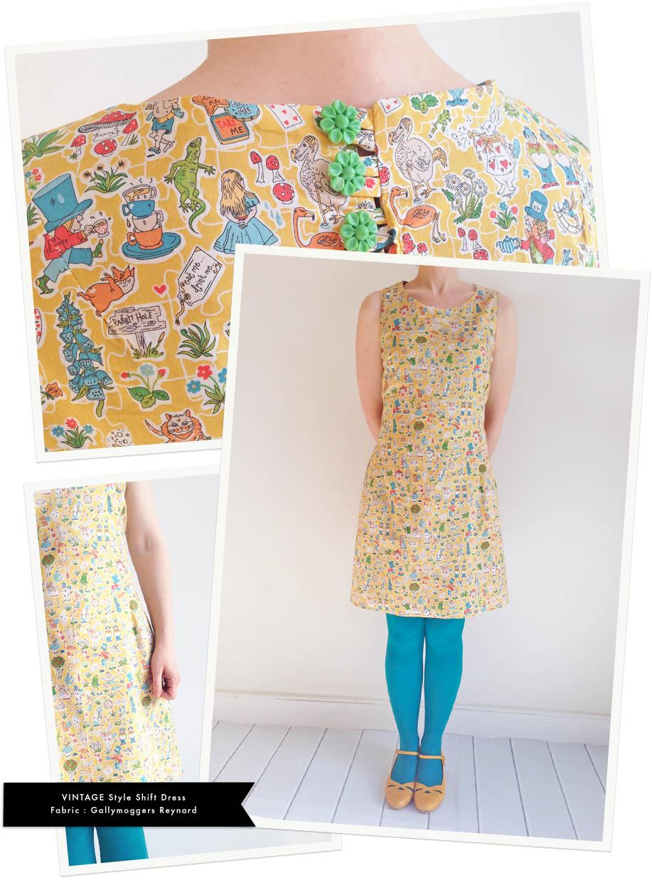 Gallymoggers Liberty dress vintage