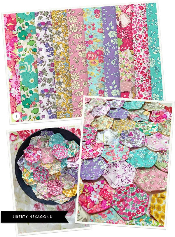 Liberty-fabric-hexagons