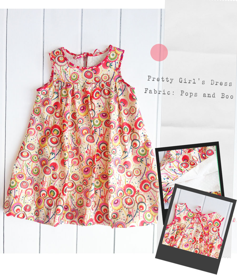 Pops an dBoo Liberty girls dress blog
