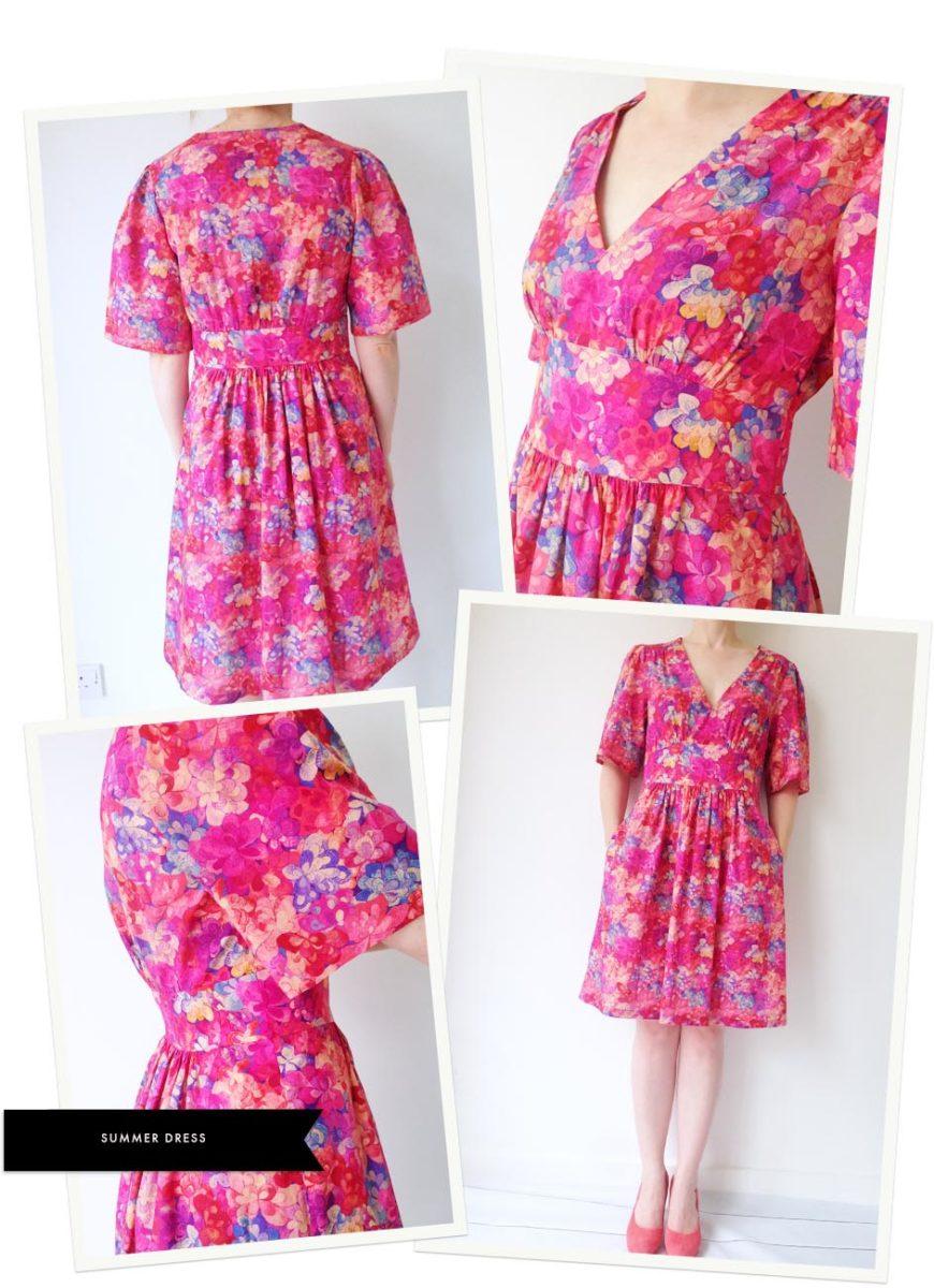 EMERALD bay B AW15 summer dress