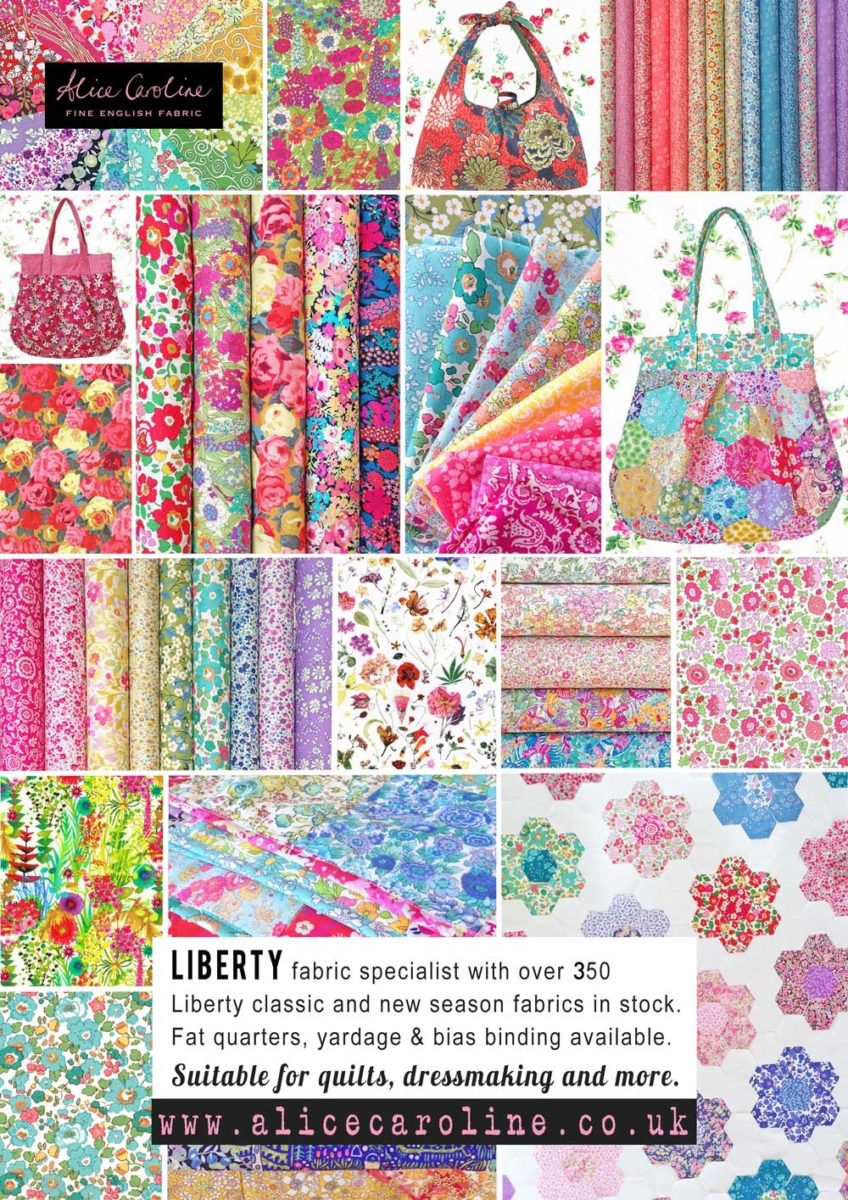 Alice Caroline Liberty fabric specialist
