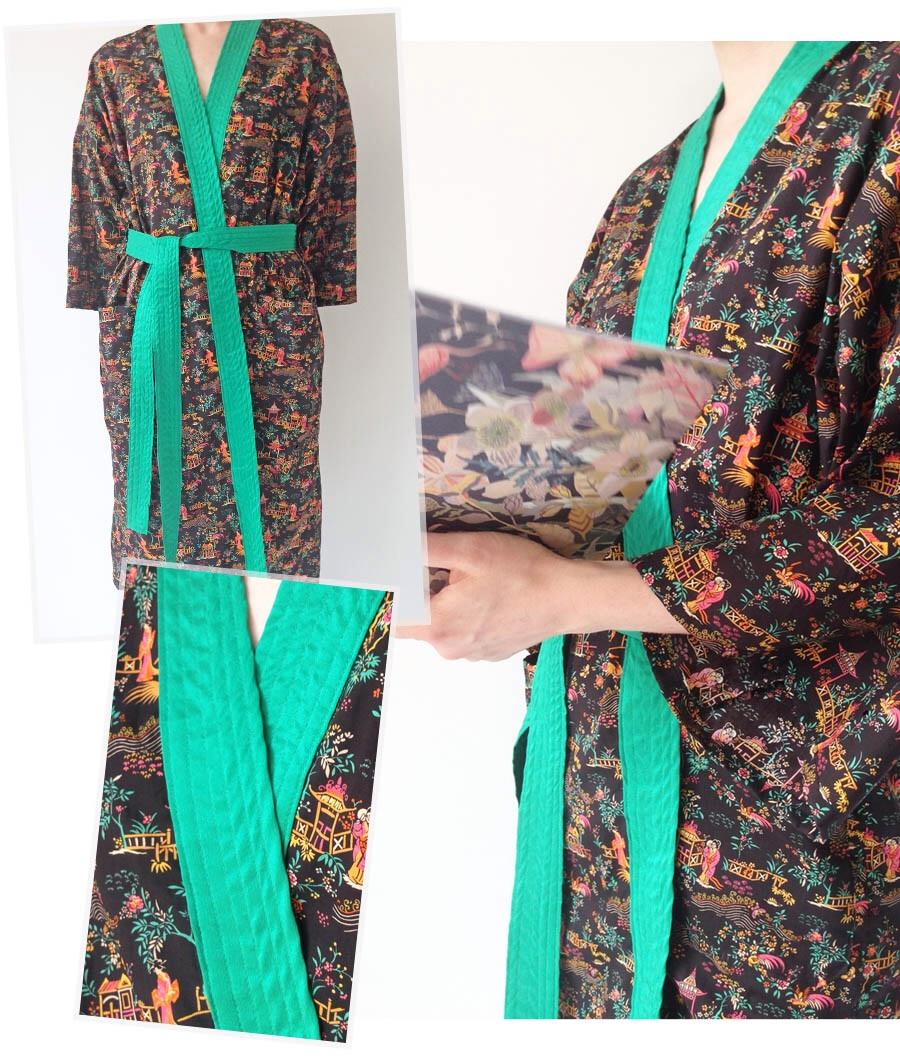 Kimono Dressing Gown - Anna Sui