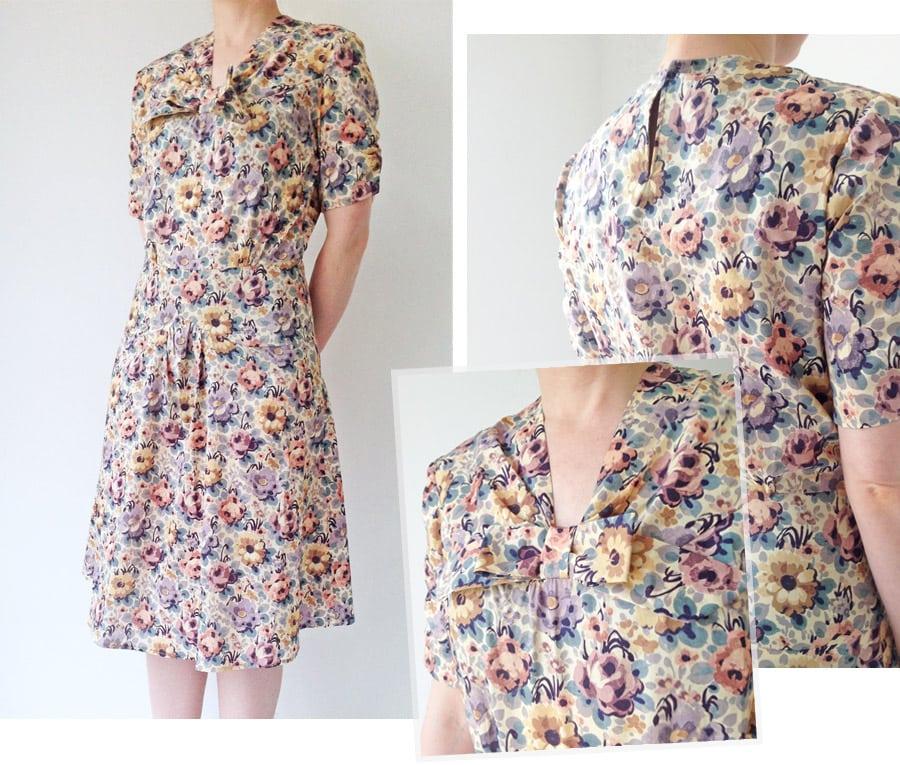 Tea Dress Alice Caroline liberty