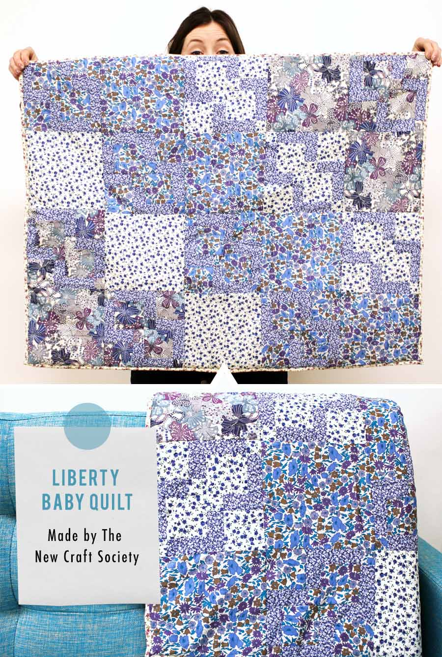 Liberty Baby Quilt