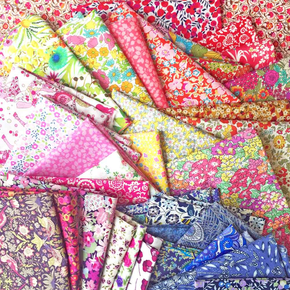 Quilt SOS Pack Liberty Tana Lawn Rainbow