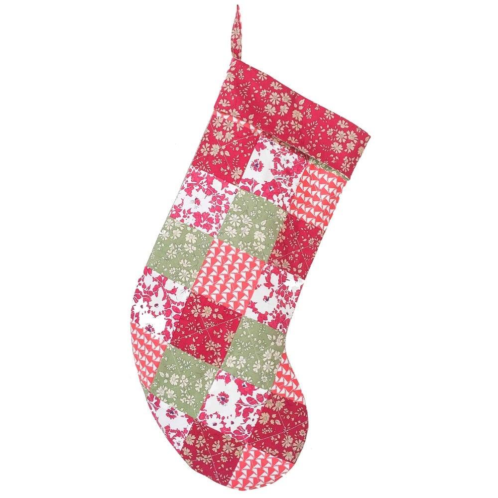 Liberty Christmas stocking
