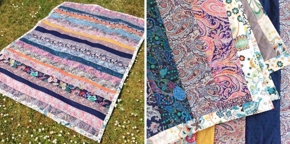 Paisley and Plains Liberty Quilt