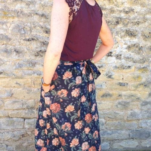Lovely Liberty Maxi Skirt