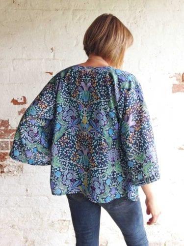 Beautiful Liberty Kimono Top
