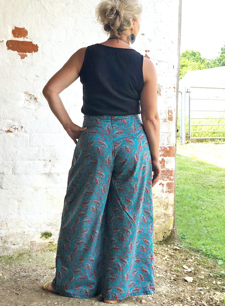 Liberty Wide Leg Trousers