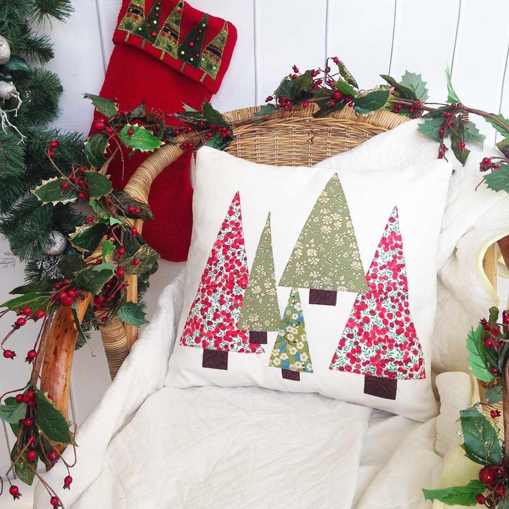 Liberty Christmas Cushion