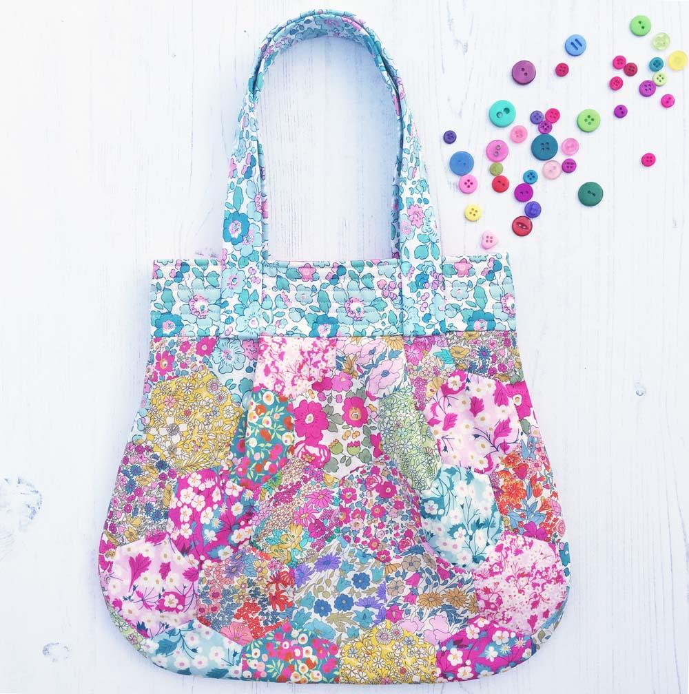 Liberty Patchwork Anna Bag
