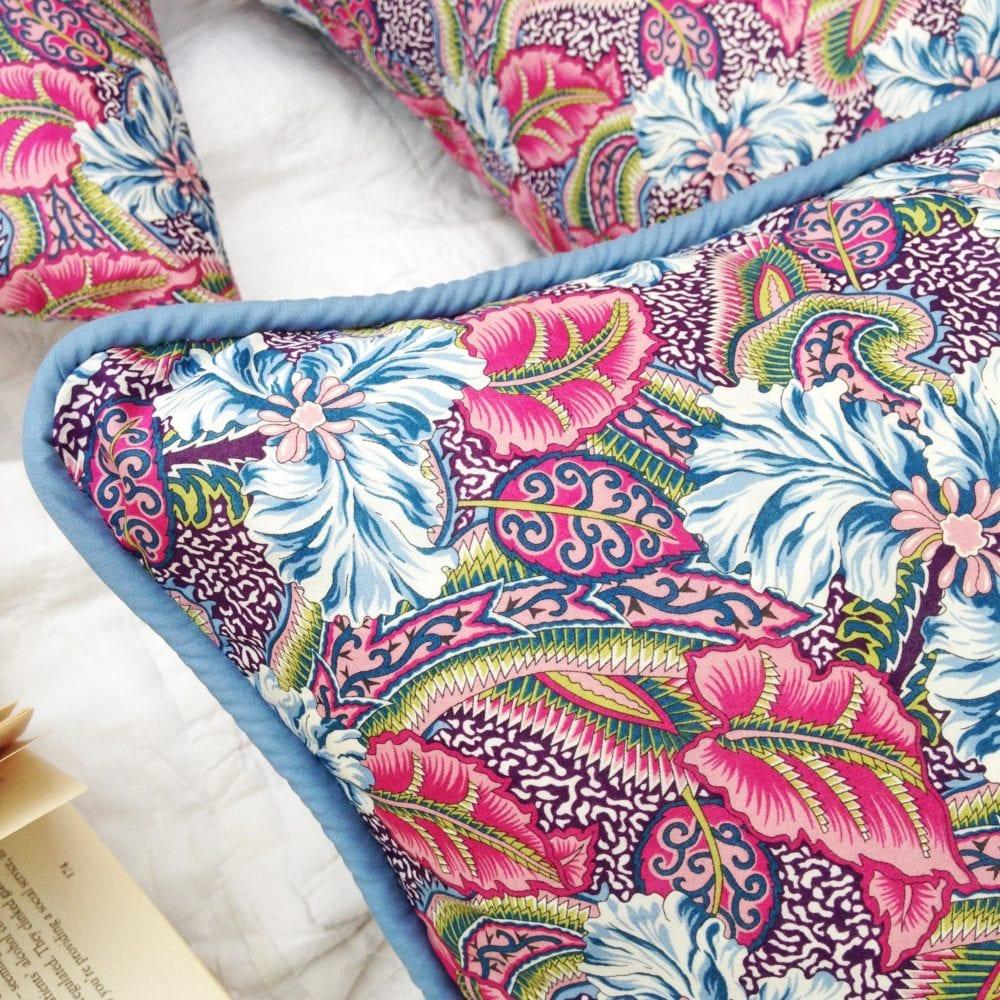 Liberty Lampshade & Cushions