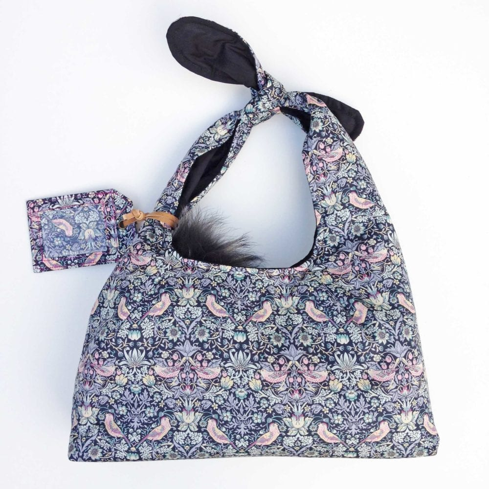 Strawberry Thief Knot Bag