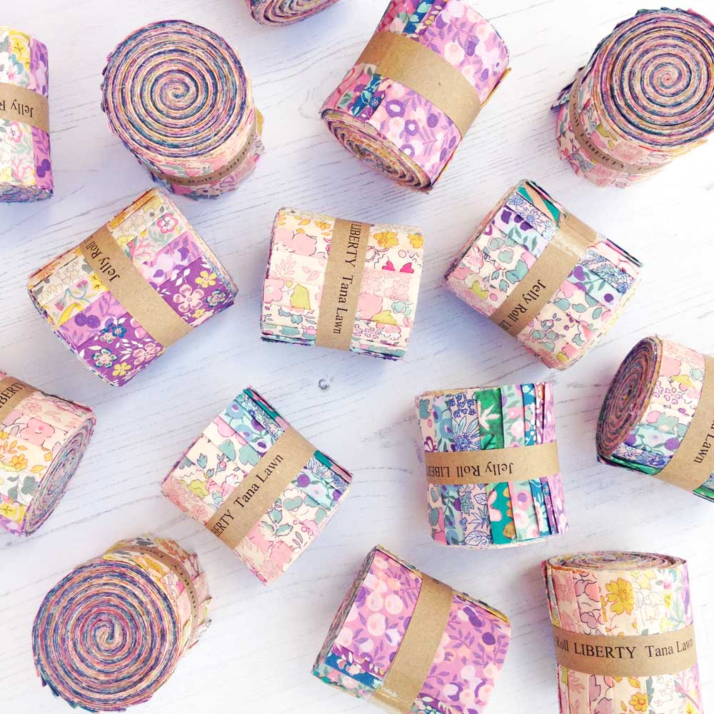 Liberty Fabric Jelly Roll - Exclusive Butterfly Garden ...