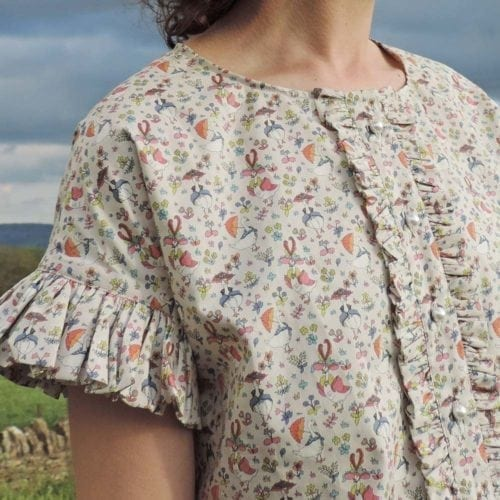 Lovely Liberty Top