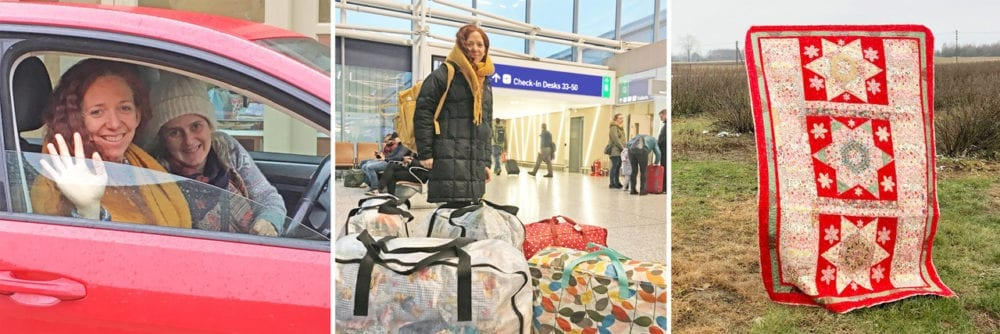 SOS Quilts Arrive in Poland