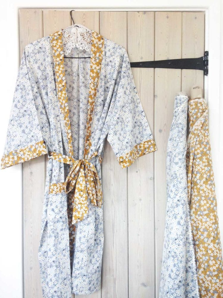 Beautiful Liberty Dressing Gown