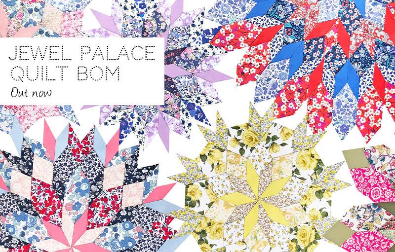 Jewel Palace Quilt BOM