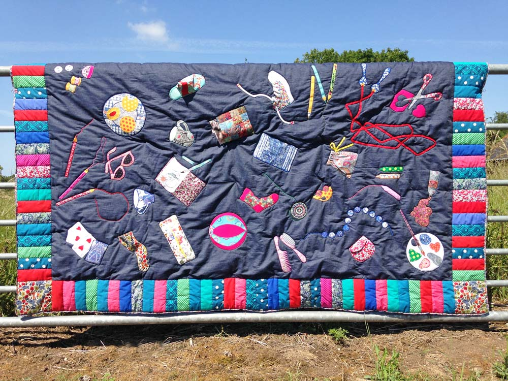 Beautiful Quilt SOS Quilt