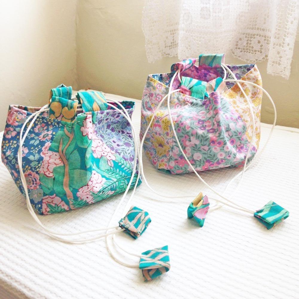 Komebukuro Liberty Rice Bags