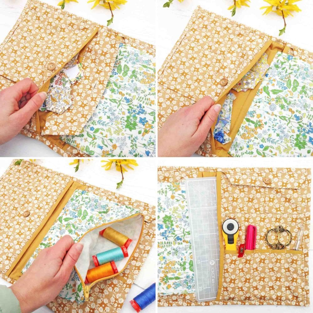 Liberty Travel Sewing Pouches