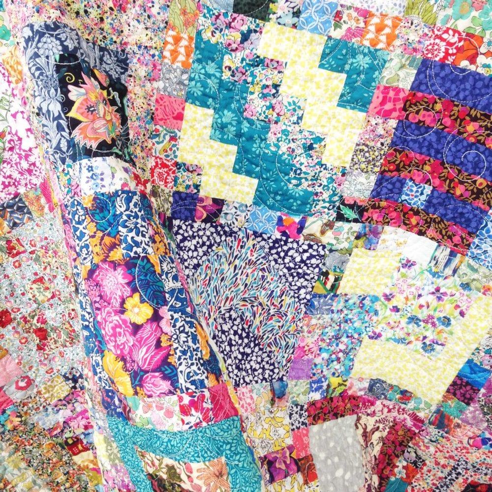 100 Blocks 100 Days Liberty Quilt
