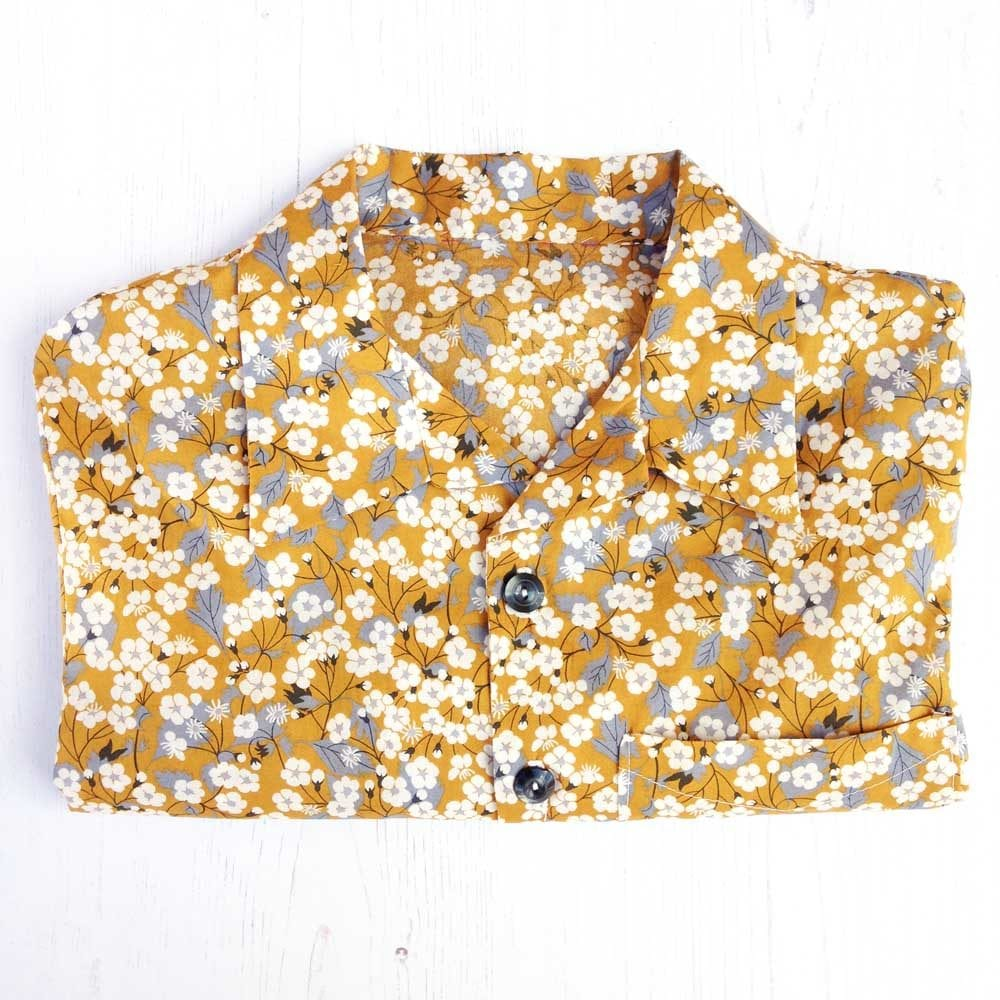 Mitsi Mustard Liberty Shirt