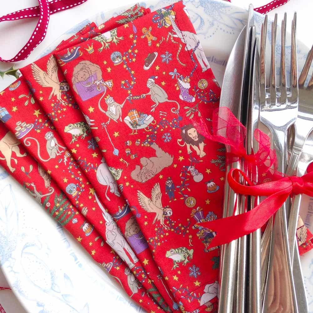 Liberty Christmas Napkins