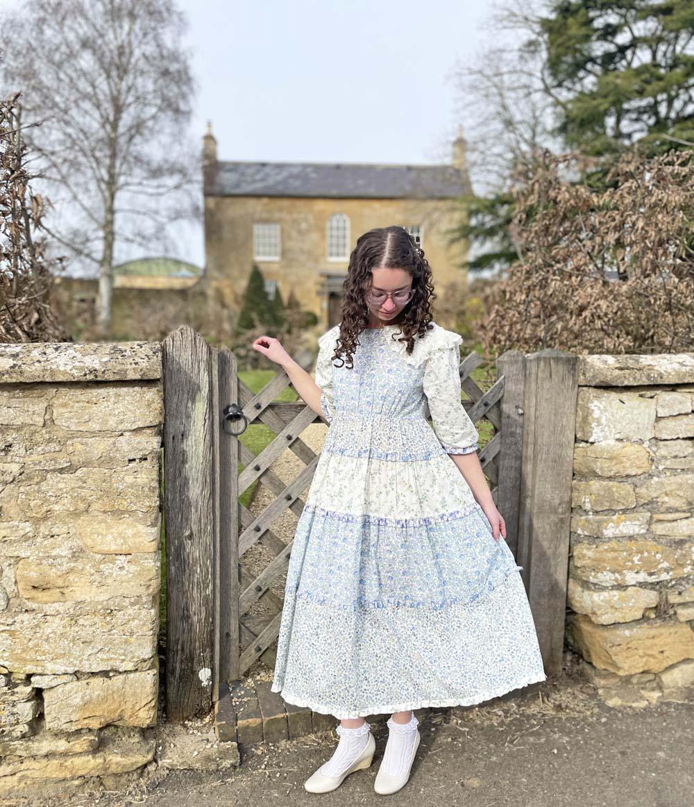 Organic Cotton Liberty Midi Dress