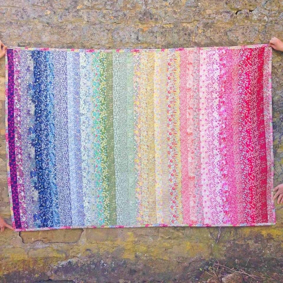 Liberty Rainbow Quilt