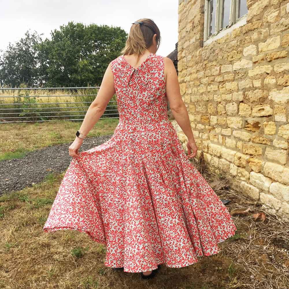 Festive Wiltshire Dress