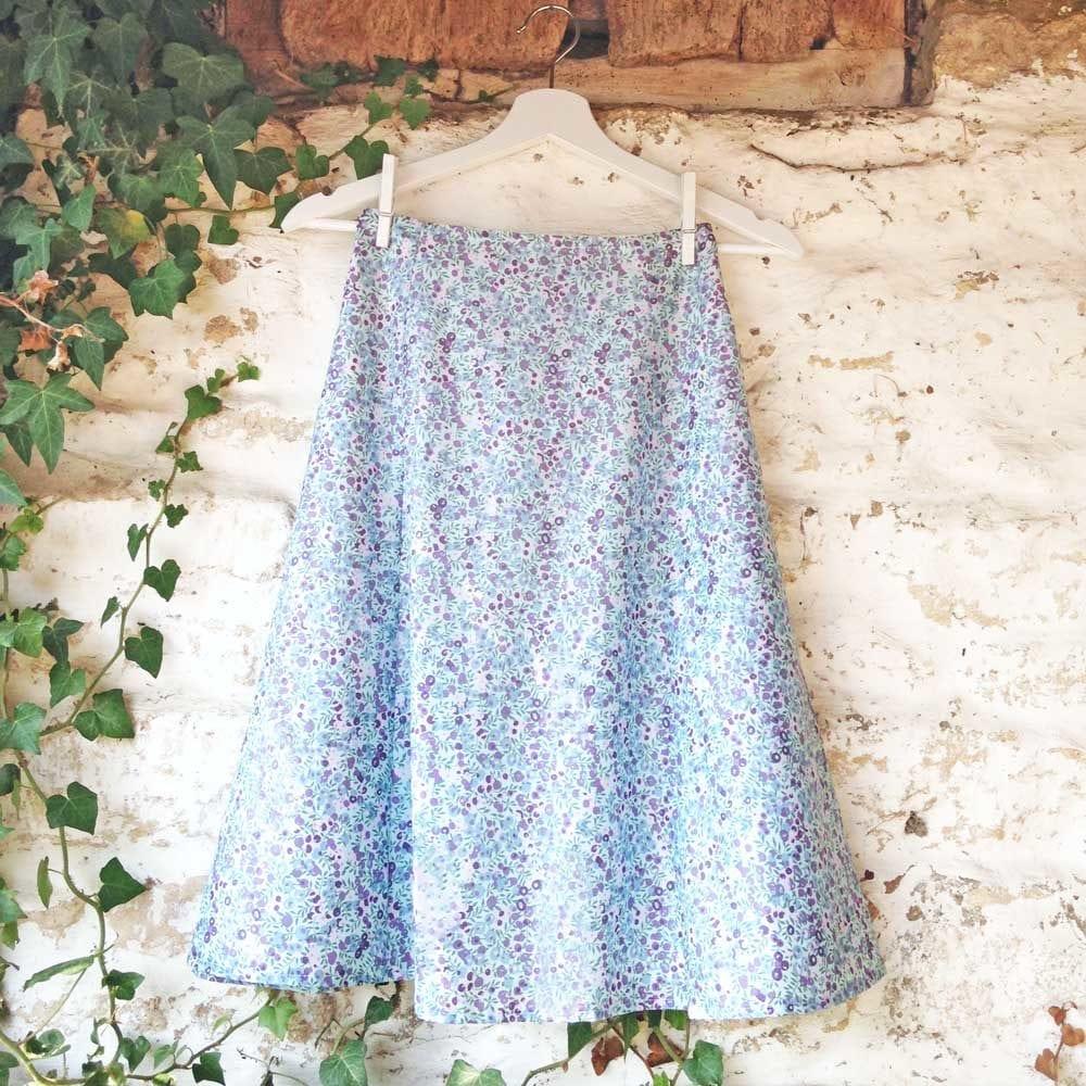 Wiltshire Blueberry Skirt