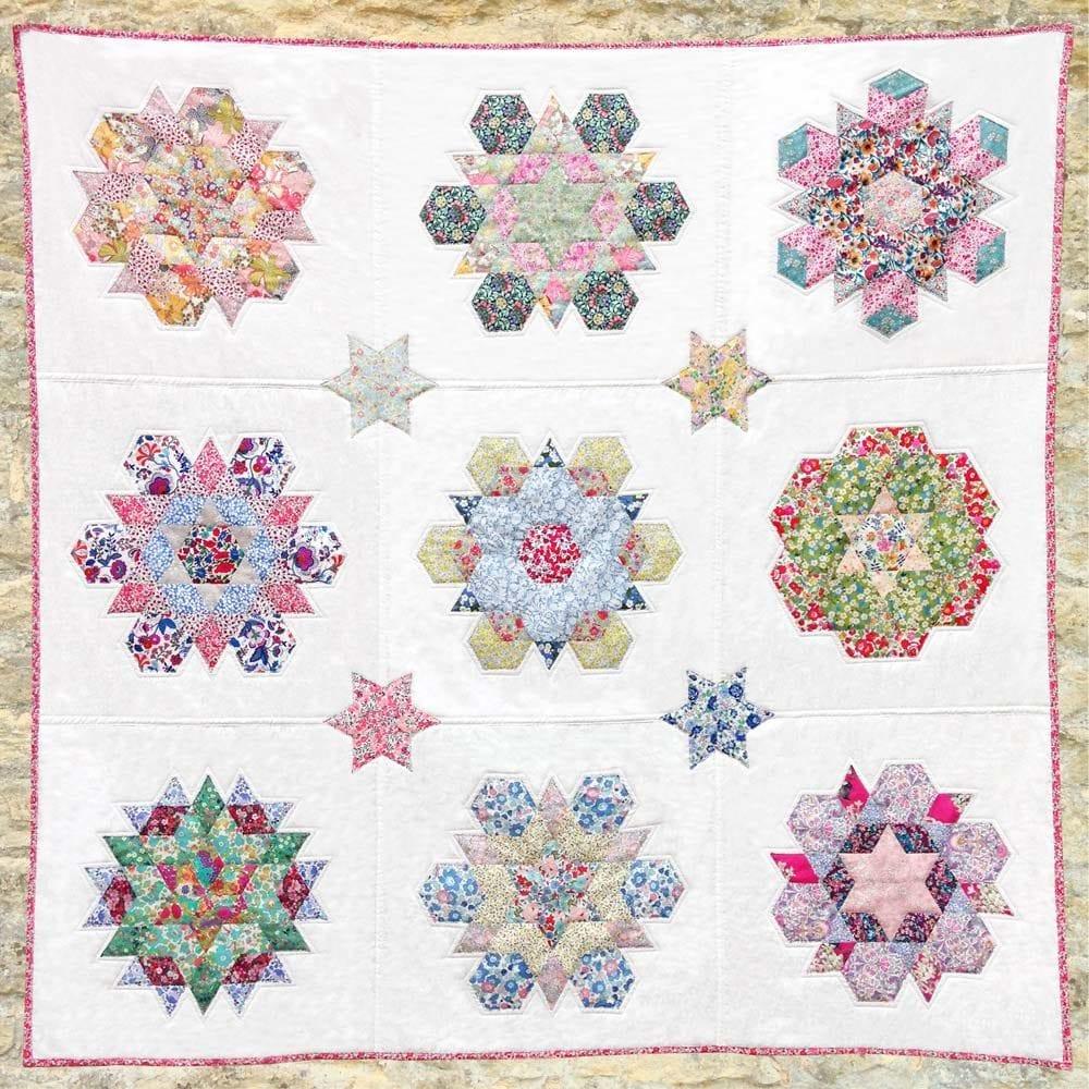 Liberty Snowflakes Quilt