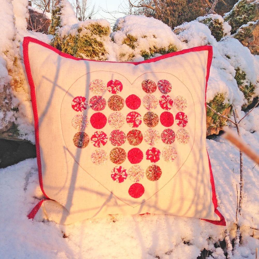 Sweetheart Suffolk Puff Cushion