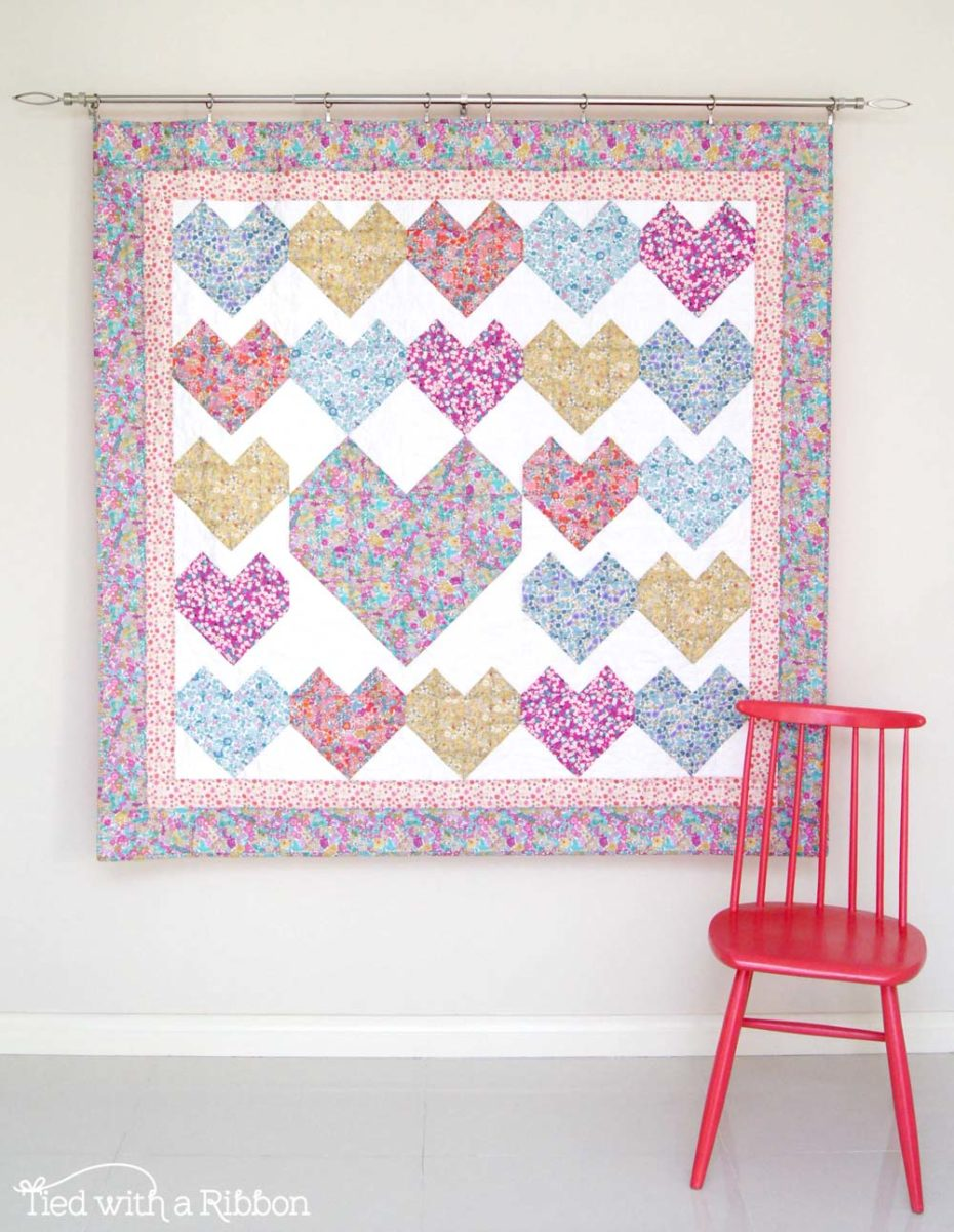 Liberty Love Letters Quilt