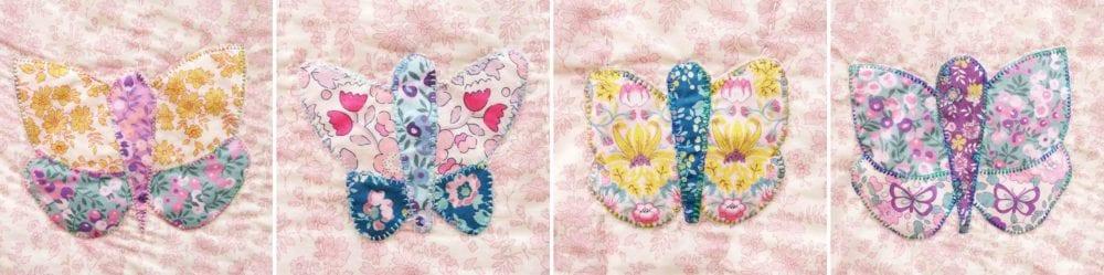 Butterflies & Buds Liberty Quilt