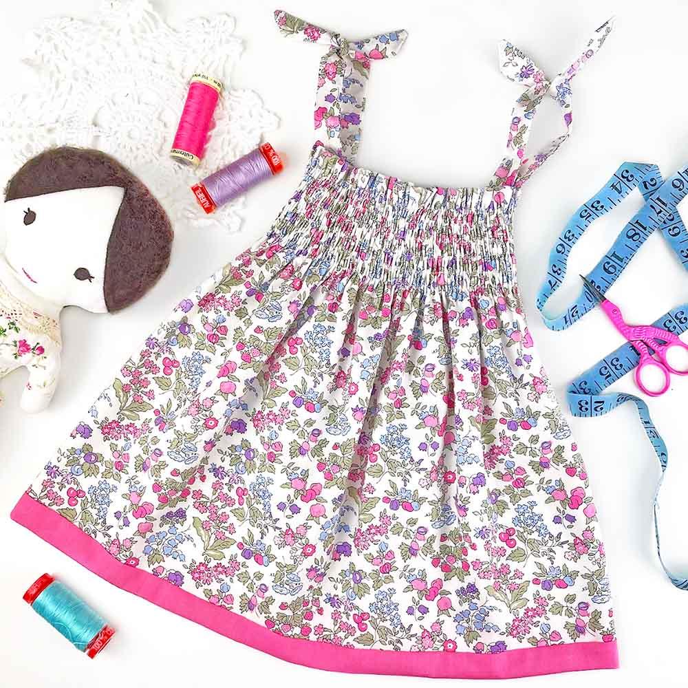 Smocked Liberty Dress