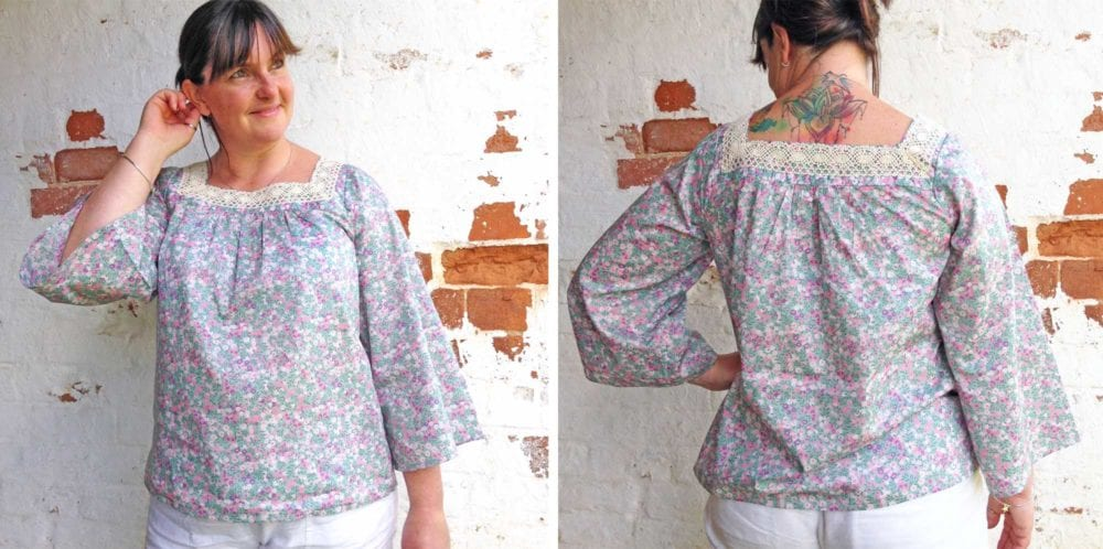 Liberty Wiltshire Blouse