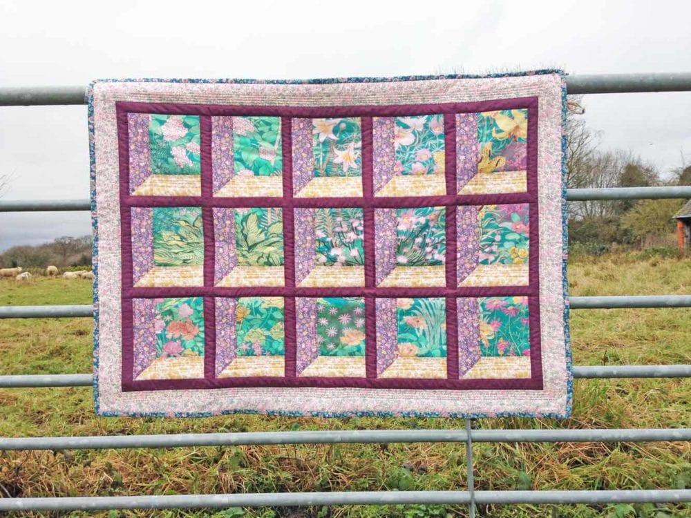 Anna's Cotswold Window Liberty GardenQuilt
