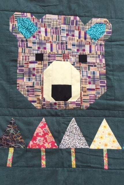 beautiful bear quilt