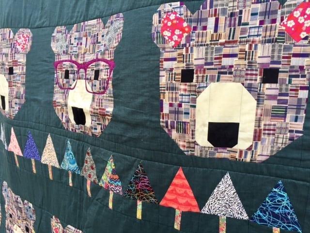 beautiful bear quilt