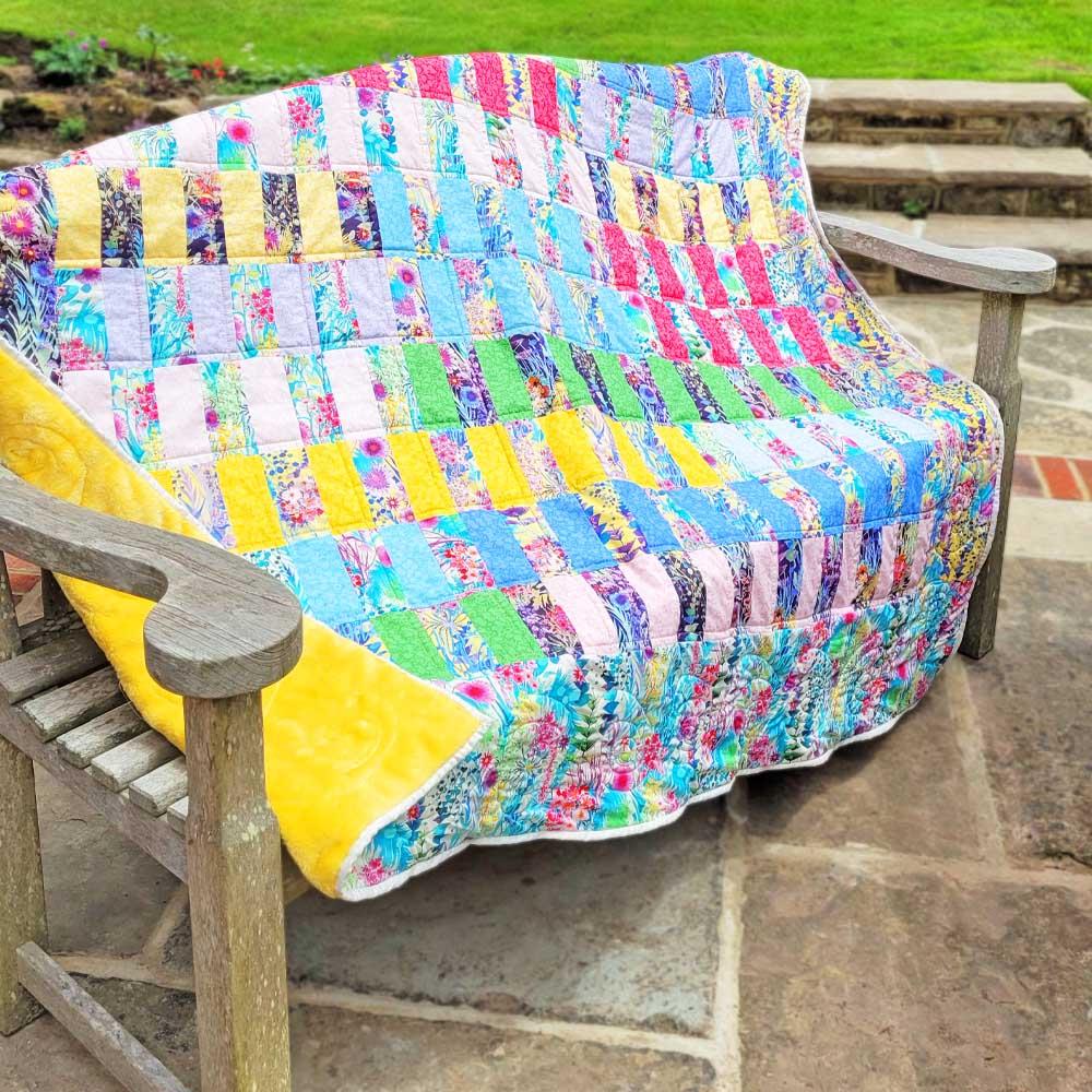 Tresco & Wiltshire Shadow Liberty Quilt