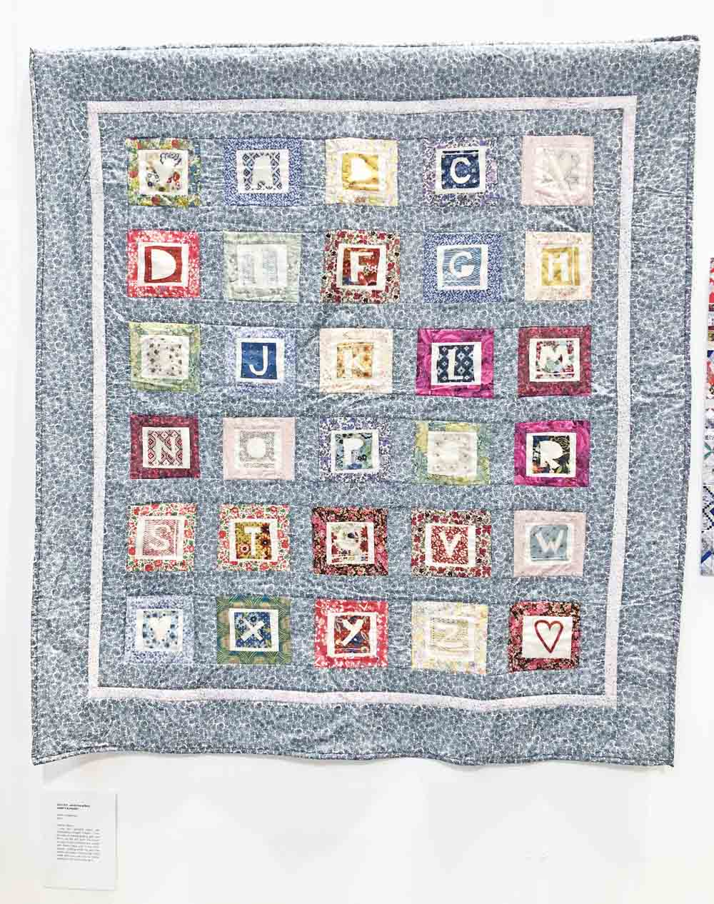 Beautiful Quilt Display