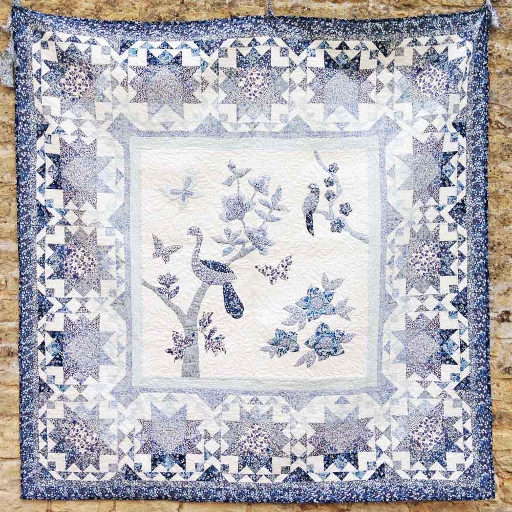 Liberty Midnight Blue Quilt