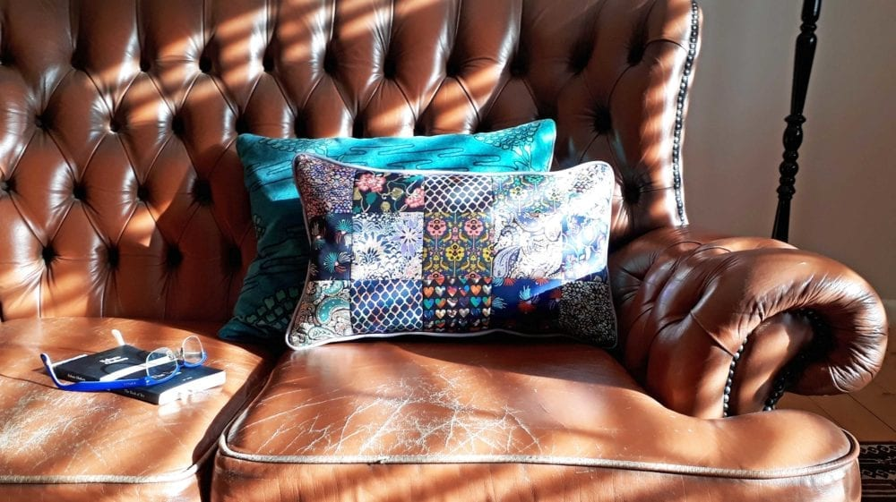 Liberty Scraps Cushion