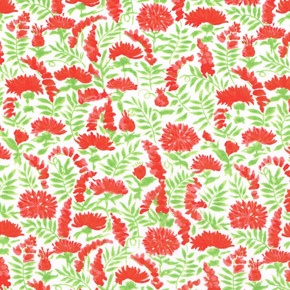 Vintage Liberty Fabric Tana Lawn Red Flowers And Foliage Alice Caroline Liberty Fabric Patterns Kits And More Liberty Of London Fabric Online